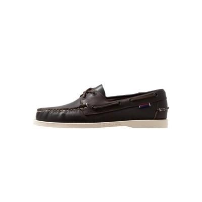 セバゴ デッキシューズ メンズ シューズ DOCKSIDES PORTLAND - Boat shoes - dark brown