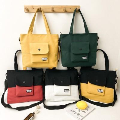 2020新型ズックバッグ 韓版ショルダーバッグ、ファッション個性トートバッグ