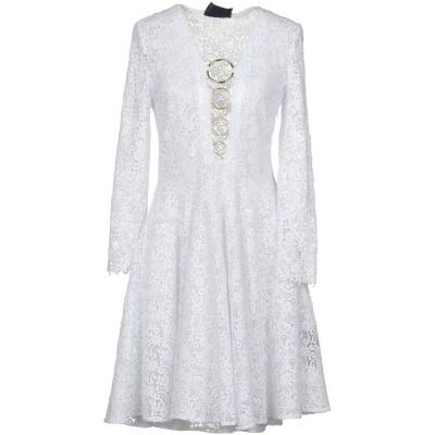 PHILIPP PLEIN ミニワンピース&ドレス ホワイト XS ポリエステル 100% ミニワンピース&ドレス