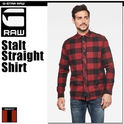 G-STAR RAW (ジースターロゥ) Stalt Straight Shirt (スタルトストレートシャツ)アジアンサイズ ストレートフィットシャツ