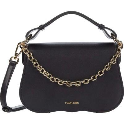 カルバンクライン Calvin Klein レディース ショルダーバッグ バッグ Western - Statement Series Calf PVC Crossbody Black/Gold