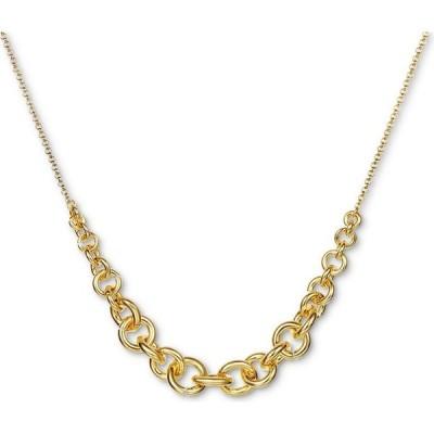 """チャータークラブ Charter Club ユニセックス 指輪・リング ジュエリー・アクセサリー Gold-Tone Linked Ring Statement Necklace, 18"""" + 2"""" extender Gold"""
