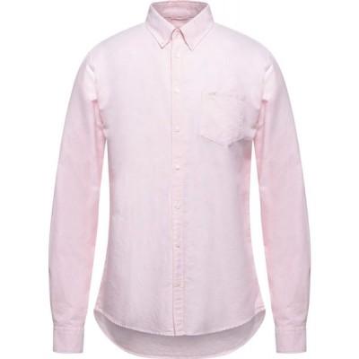 サン シックスティーエイト SUN 68 メンズ シャツ トップス Patterned Shirt Light pink