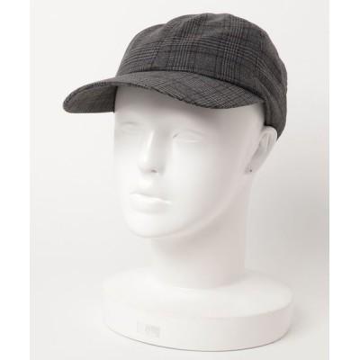 CASSELINI / グレンチェックキャップ WOMEN 帽子 > キャップ