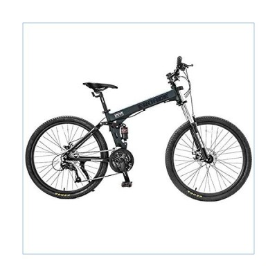 26 Inch Mountain Bike, Unisex, 27-Speed Variable Speed Bicycle, Double Shock Absorption, Aluminum Alloy Frame, Lockable Front Fork, Off-Road Racing,Bl