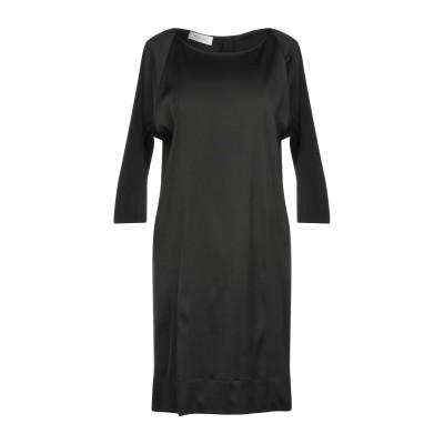 アリーニ AGLINI ミニワンピース&ドレス ブラック 40 レーヨン 97% / ポリウレタン 3% ミニワンピース&ドレス