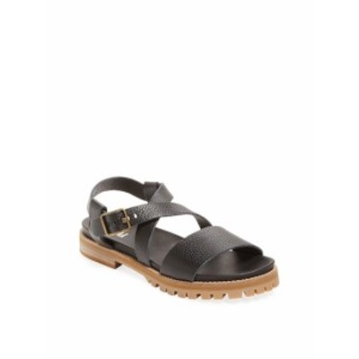 レンビー レディース シューズ サンダル Lug Sole Leather Sandal