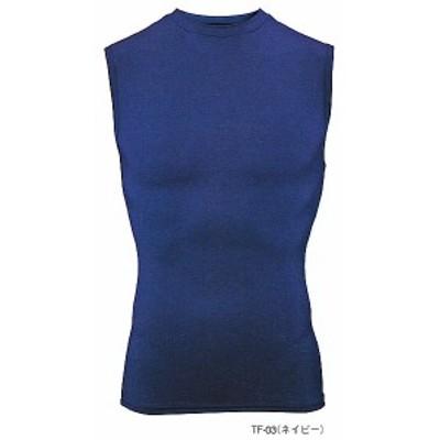 TF-022 2WAY ノースリーブシャツ(クールネック) 全8色 (Tシャツ ポロシャツ ニット アウター キャップ m's project マスダ