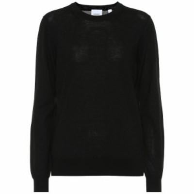 バーバリー Burberry レディース ニット・セーター トップス Merino wool sweater Black