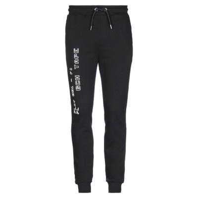 LHU URBAN パンツ ブラック S コットン 100% パンツ