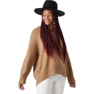 フリーピープル ニット&セーター レディース アウター Brookside Tunic Sweater - Women's Desert Camel