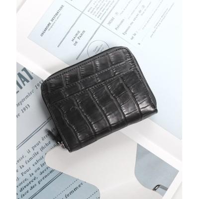 三京商会 / クロコダイルレザーミニ財布 WOMEN 財布/小物 > 財布