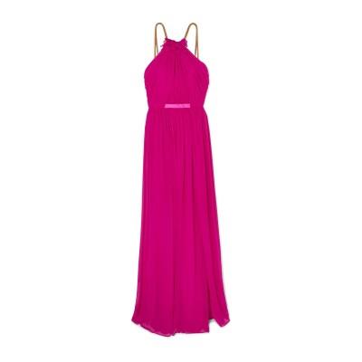 ハニー HANEY 7分丈ワンピース・ドレス フューシャ 0 シルク 100% 7分丈ワンピース・ドレス