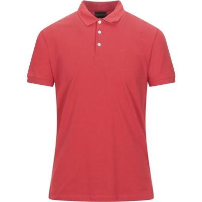 アルマーニ EMPORIO ARMANI メンズ ポロシャツ トップス Polo Shirt Red