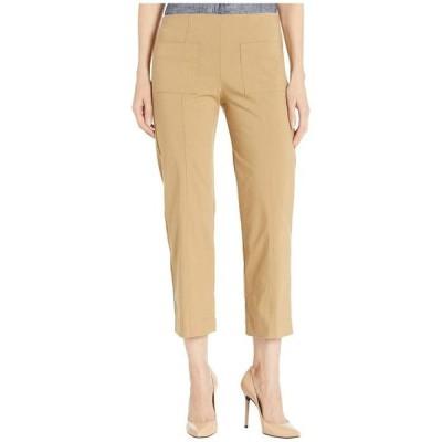 エリオットローレン レディース カジュアルパンツ ボトムス Control Stretch Pull-On Pants with Center Front Pockets