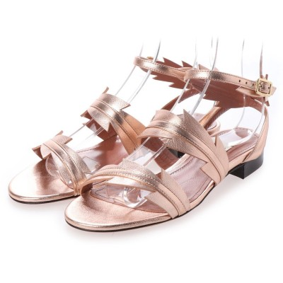 バリー BALLY FLAT SANDAL (PINK GOLD)