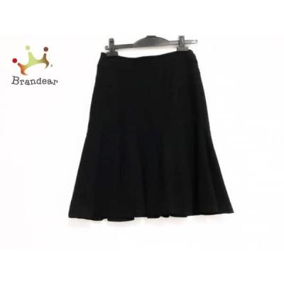 ボディドレッシングデラックス BODY DRESSING Deluxe スカート サイズ36 S レディース 黒 ウール       スペシャル特価 20200511