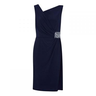 アリエラ ロンドン Ariella London レディース パーティードレス ワンピース・ドレス Lana Marie Stella Navy Jersey Dress NAVY