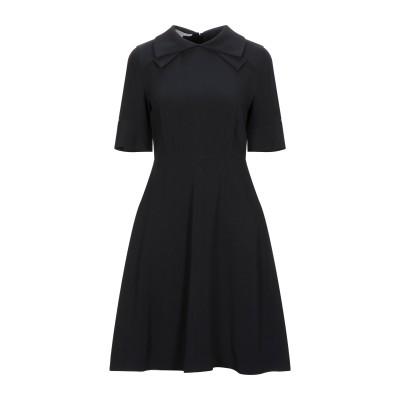 ステラ マッカートニー STELLA McCARTNEY ミニワンピース&ドレス ブラック 40 レーヨン 64% / アセテート 32% / ポリ