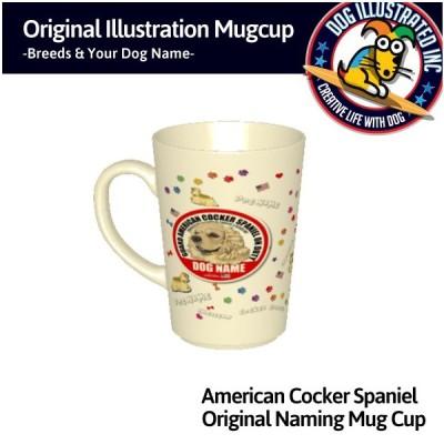 アメリカンコッカースパニエルマグカップ