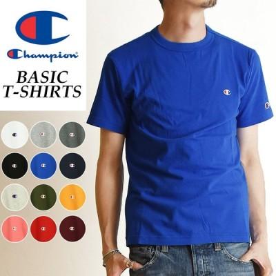 【SALEセール10%OFF】Champion チャンピオン Tシャツ ベーシックライン クルーネックTシャツ メンズ BASIC LINE CREW NECK T-SHIRTS C3-P300