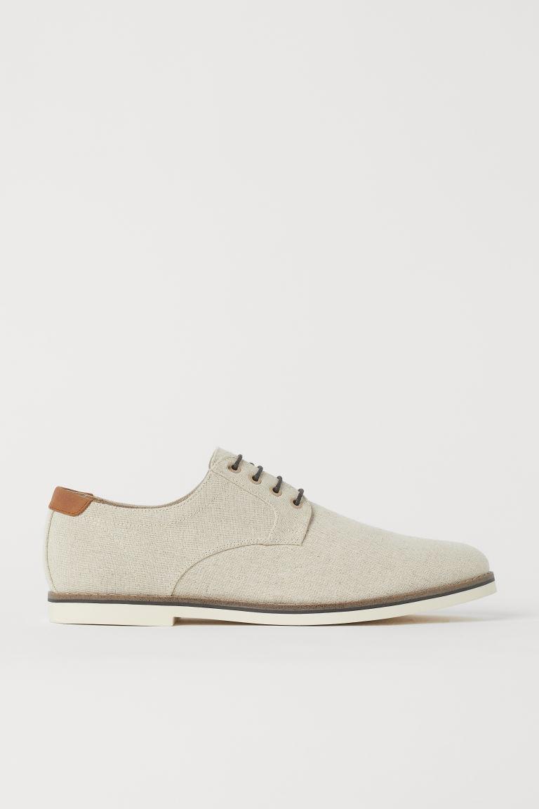 H & M - 德比鞋 - 米黃色