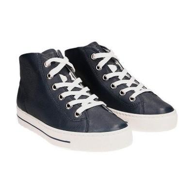 Paul Green ポールグリーン レディース 女性用 シューズ 靴 スニーカー 運動靴 Bronte Sneaker - Space Leather