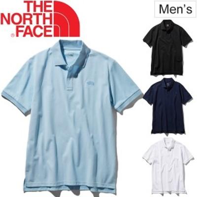ポロシャツ 半袖 メンズ THE NORTH FACE ノースフェイス S/Sクールビジネスポロ 鹿の子 カノコポロ クールビズ 通勤 男性 紳士服 ビジネ