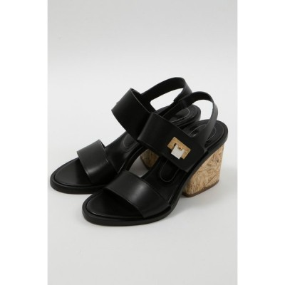 バレンシアガ サンダル 靴 レディース 349328 WATD2 ブラック BALENCIAGA