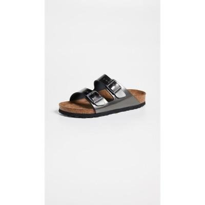 ビルケンシュトック Birkenstock レディース サンダル・ミュール シューズ・靴 Arizona SFB Sandals Metallic Anthracite