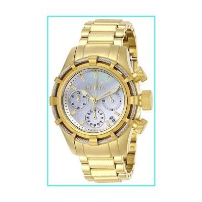 【新品】Invicta Women's Bolt Quartz Watch with Stainless Steel Strap, Gold, 20 (Model: 27492)(並行輸入品)