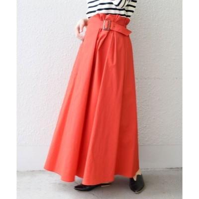 Khaju:サイドギャザーマキシスカート ◇