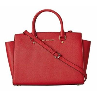 マイケルコース アメリカ 直輸入 Michael Kors Selma Large Leather Satchel, Red, OS