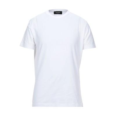 ディースクエアード DSQUARED2 T シャツ ホワイト M コットン 100% / ポリウレタン T シャツ
