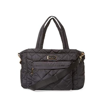 Marc by Marc Jacobs Crosby Nylon Quilted Diaper Bag, Black, Large【並行輸入品】