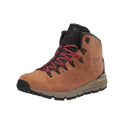 """Danner Men's Mountain 600 4.5"""" Insulated Hiking Boot, Brown/Red, 10.5"""