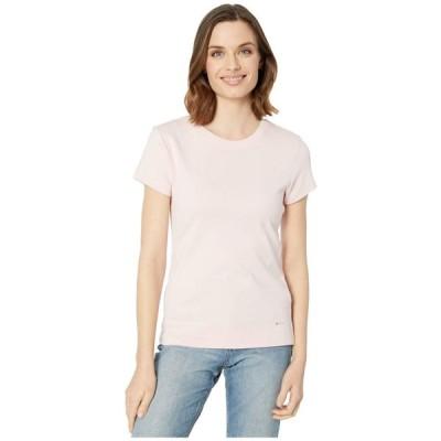 カルバンクライン Calvin Klein レディース Tシャツ トップス Cotton T-Shirt Rose