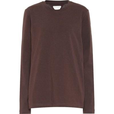 ボッテガ ヴェネタ Bottega Veneta レディース ニット・セーター トップス Cotton Sweater Dark Chocolate