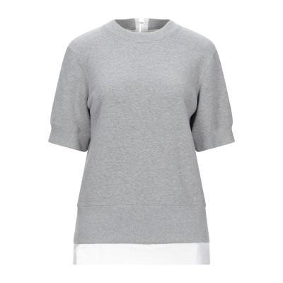 サカイ SACAI スウェットシャツ グレー 3 コットン 100% / ポリエステル スウェットシャツ