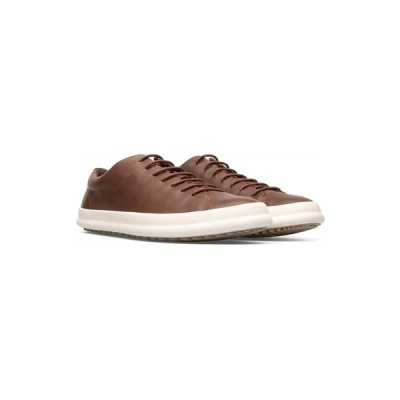 カンペール スニーカー シューズ メンズ Men's Chasis Sneakers Dark Brown