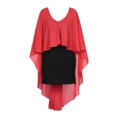 HEFTY ミニワンピース&ドレス レッド 42 ポリエステル 100% / ナイロン / ポリウレタン ミニワンピース&ドレス