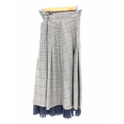リリーブラウン Lily Brown プリーツスカート サイズone size レディース 【中古】【ブランド古着バズストア】