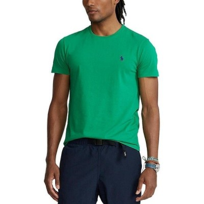 ラルフローレン メンズ Tシャツ トップス Active-Fit Short-Sleeve Tee Billiard Green