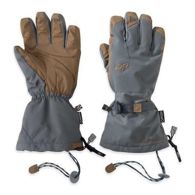 アウトドアリサーチ 手袋 メンズ アクセサリー Outdoor Research Alti Glove Charcoal/natural