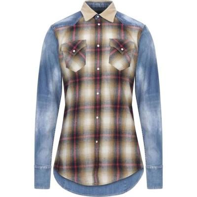 ディースクエアード DSQUARED2 メンズ シャツ トップス checked shirt Blue