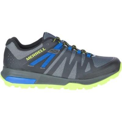 メレル スニーカー シューズ メンズ Merrell Men's Zion FST Low Hiker Shoes Gray/Bright Green