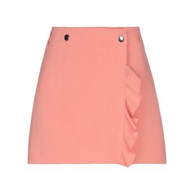 VICOLO ミニスカート サーモンピンク L ポリエステル 88% / ポリウレタン 12% ミニスカート