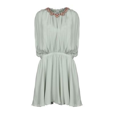 ヴァレンティノ VALENTINO ミニワンピース&ドレス ライトグリーン 40 100% シルク ミニワンピース&ドレス