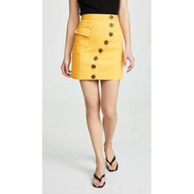 Acler レディーススカート Acler Golding Denim Skirt Marigold