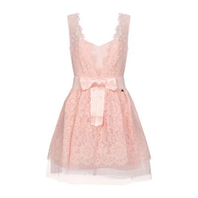レリッシュ RELISH ミニワンピース&ドレス ピンク XS コットン 65% / ナイロン 35% ミニワンピース&ドレス